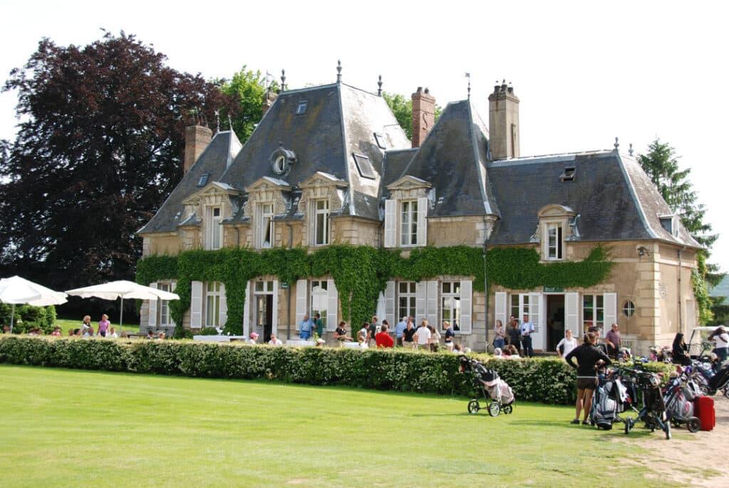 hôtel du golf chateau vacances golf séjour