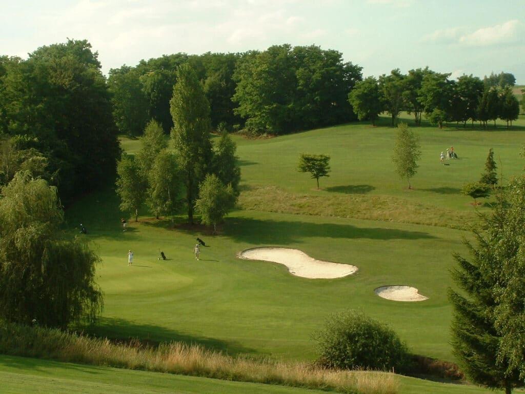 GOLF DU VAL SECRET Hauts de France parcours de golf