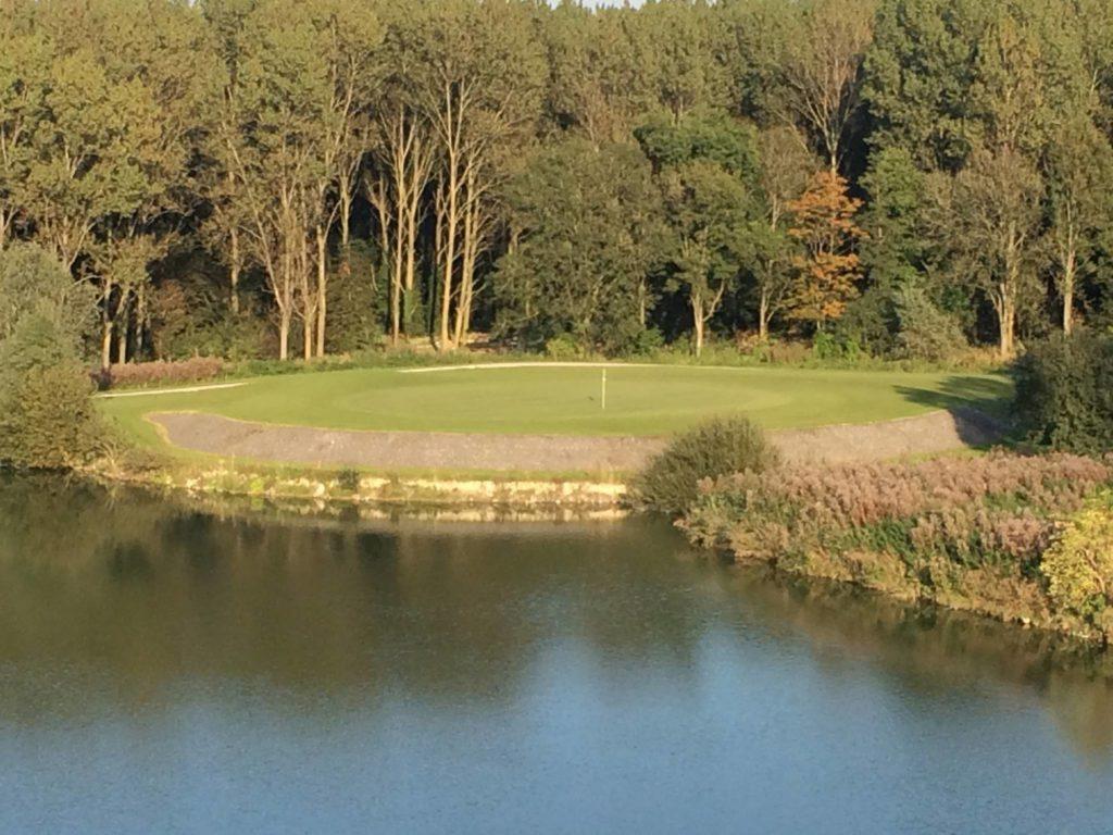 parcours de golf arbre fairway green bunker Dunkerque