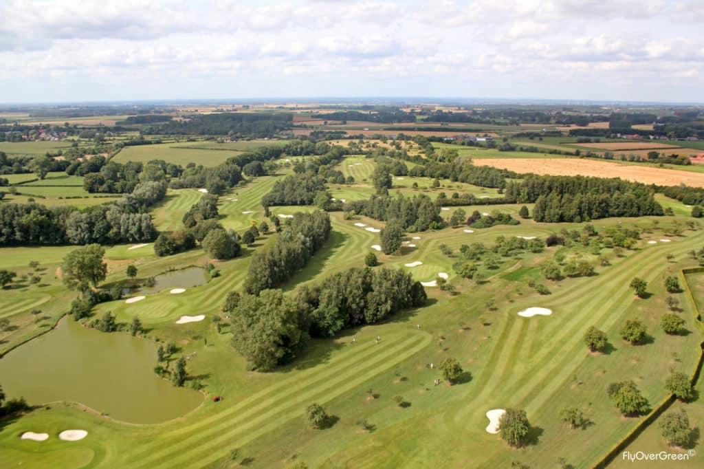 Golf Club de Mormal vue aerienne