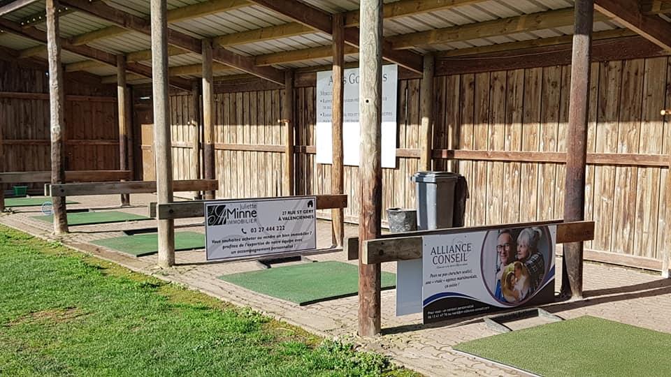 practice Golf Valenciennes