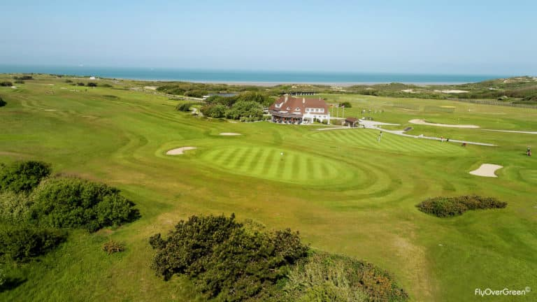 Golf Club de Wimereux pracours de golf 18 trous bordure ocean