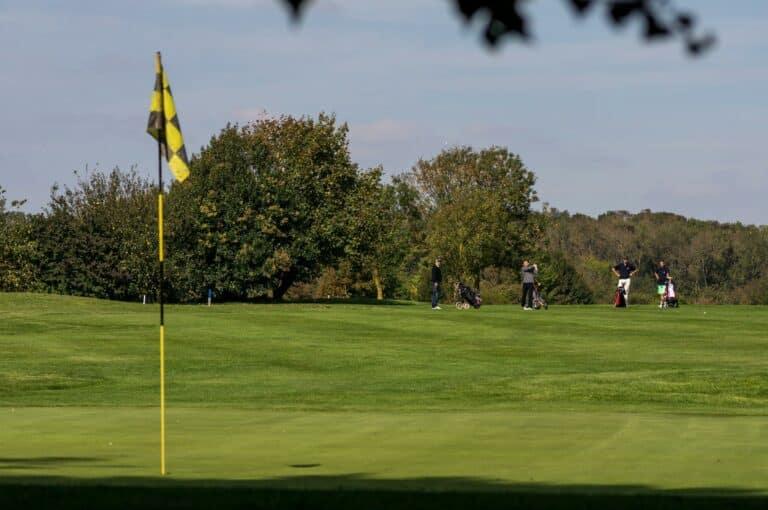 Green et golfeurs Swing la rochelle sud