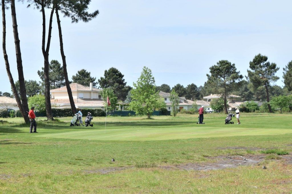 Maisons sur golf Vacances Golfeurs swing fairway Parcours de golf Arcachon