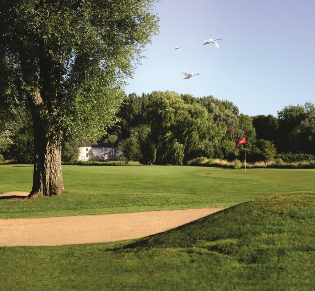 bunker arbre parcours golf Nampont St Martin Golf Club