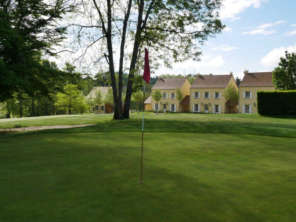 Parcours de golf Château des Merles Maisons sur golf