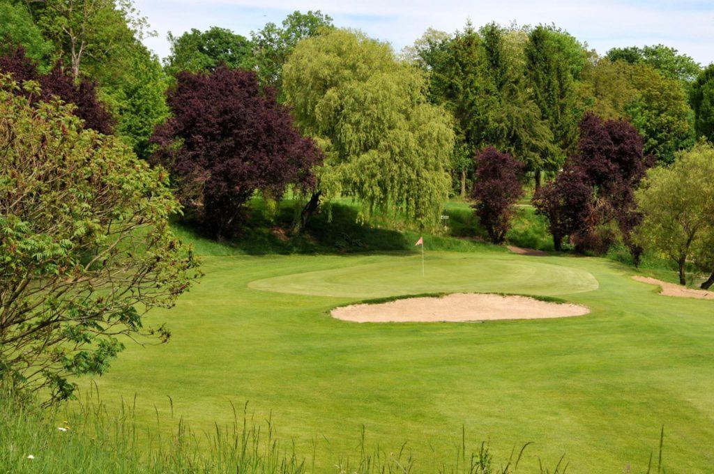 Le parcours de golf en Automne