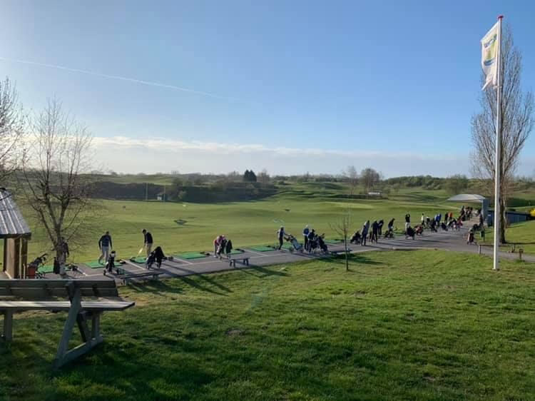 practice golfeurs swing de golf