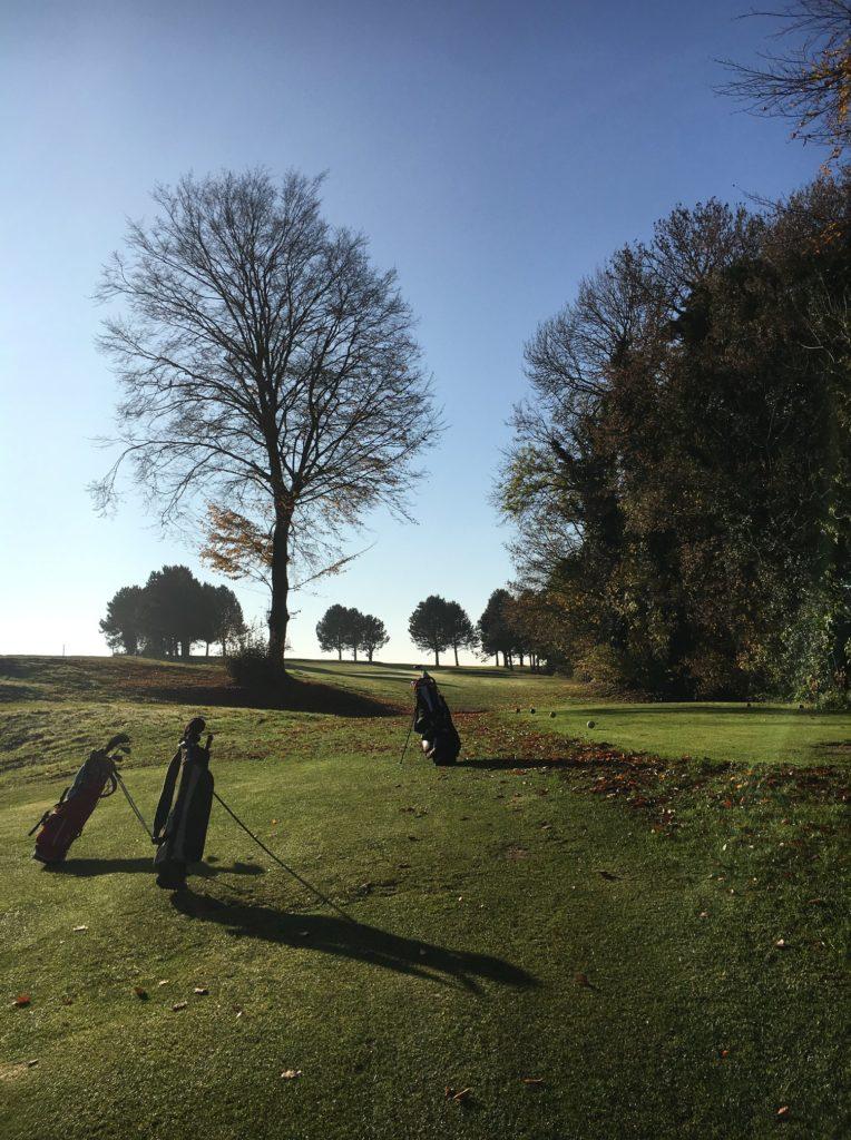 sac clubs de golf depart golfeur swing