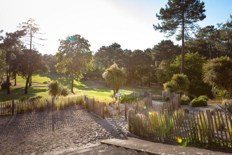 UGOLF (Garden Golf de Lacanau) Sable green palmier pins