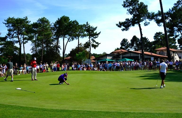 compétition stage séjour golf landes