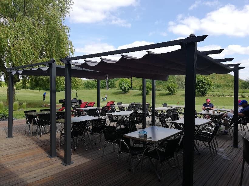 terrasse restaurant golf vue panoramique parcours