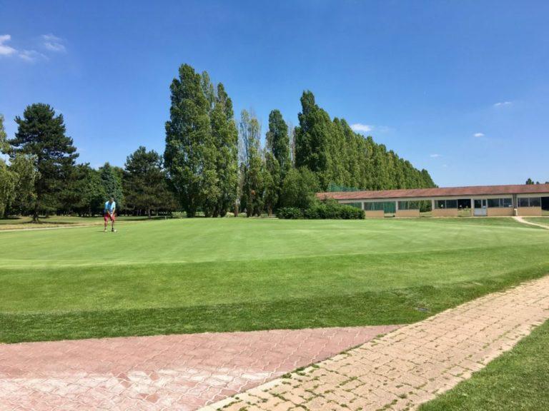 golfeur Golf de Villacoublay