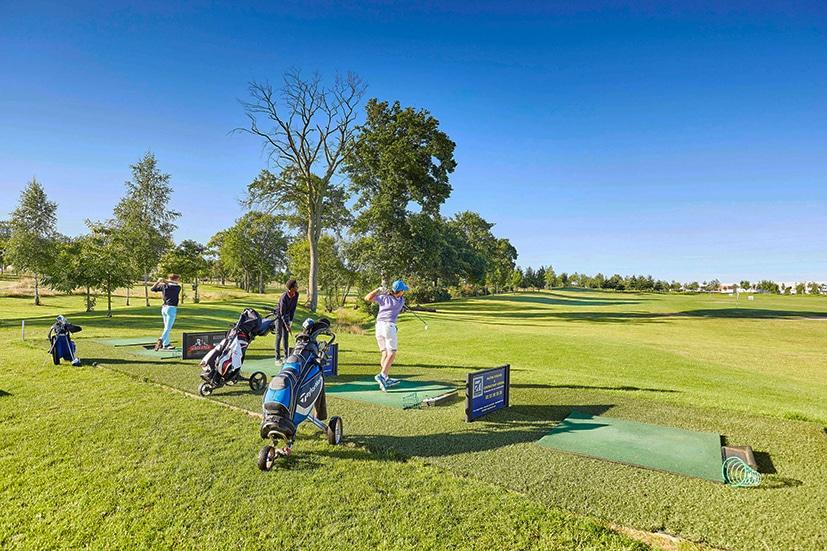 Golf Cap Malo Practice driving range