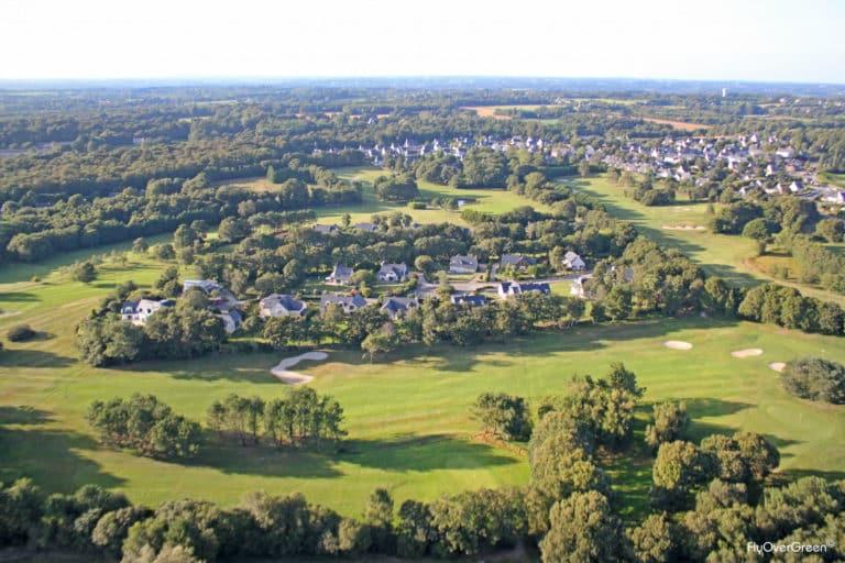 Golf Odet vue aerienne