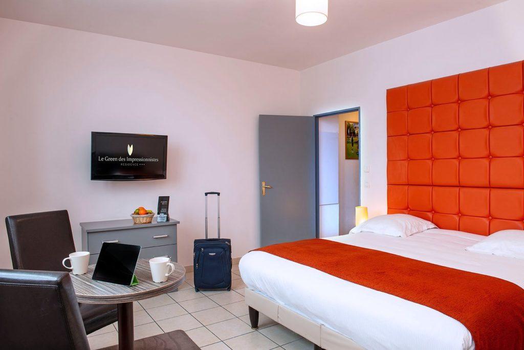 chambre séjour vacances golf Golf de Domont Montmorency Hotel Green des impressionistes