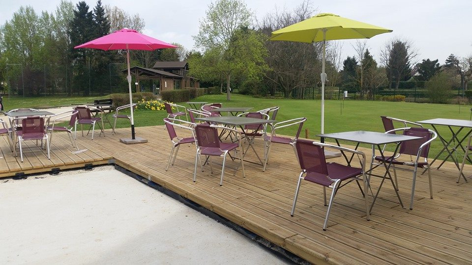 terrasse club-house restaurant du golf
