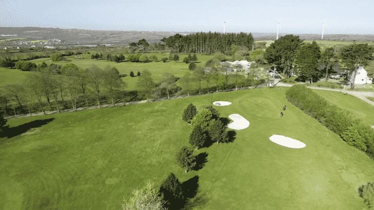 Golf de Pen Ar Bed Golf course Brittany