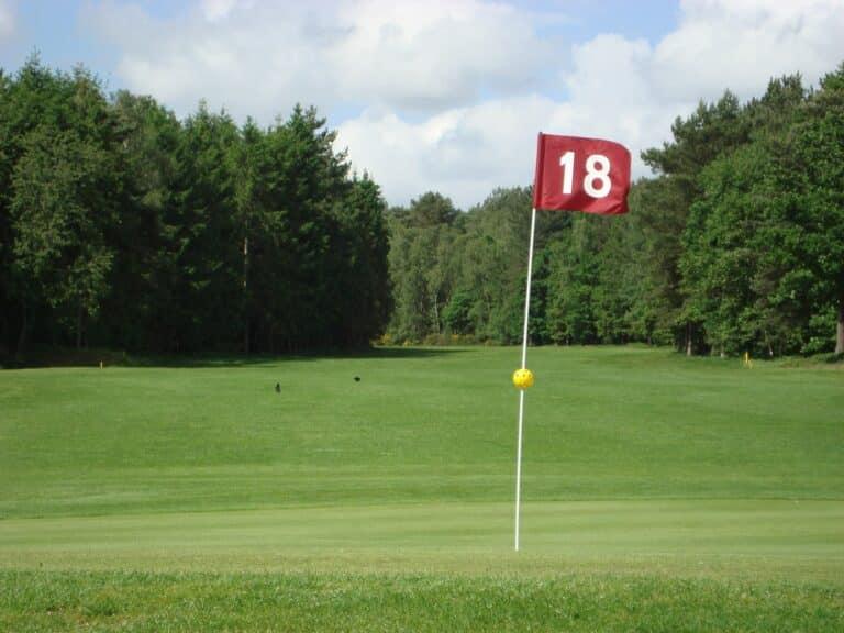 Green du 18 Golf de Jumièges