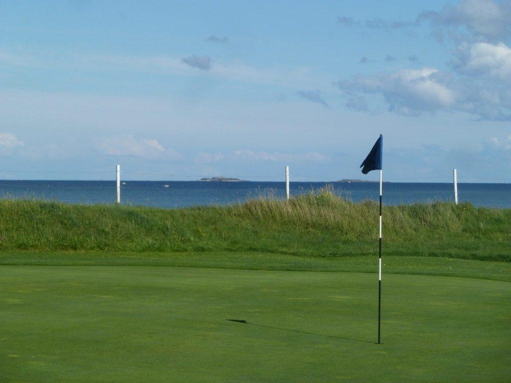 Green vue sur la mer Golf de la Presqu'île du Cotentin