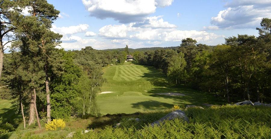 Vue parcours Golf de Fontainebleau