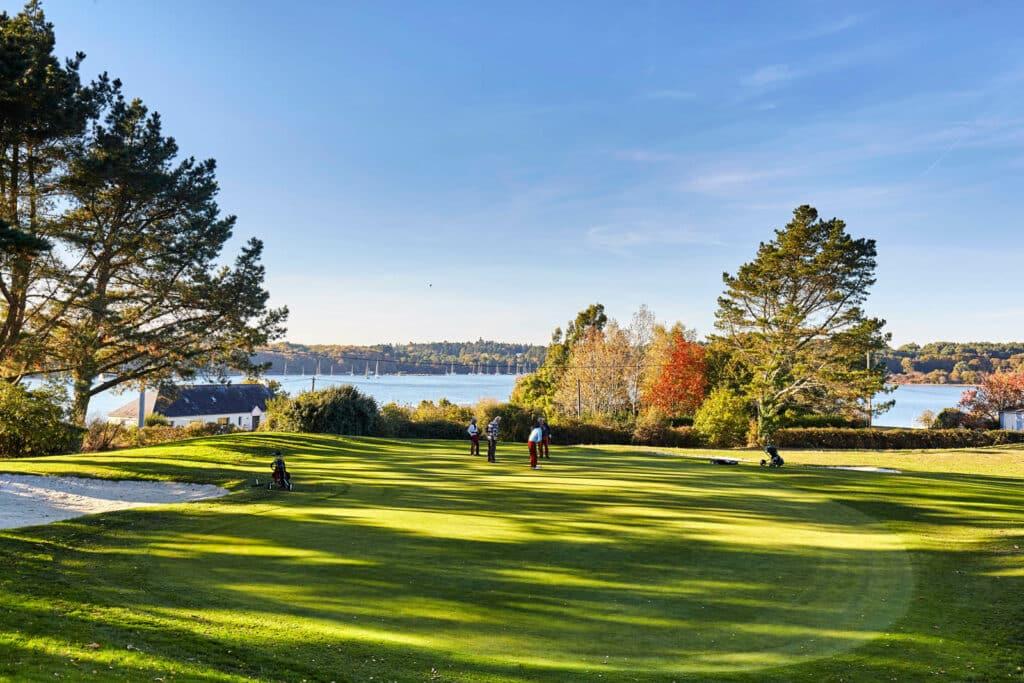 jouer golf Bretagne Golf de Baden