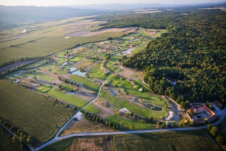 Alsace golf Links Vue aerienne