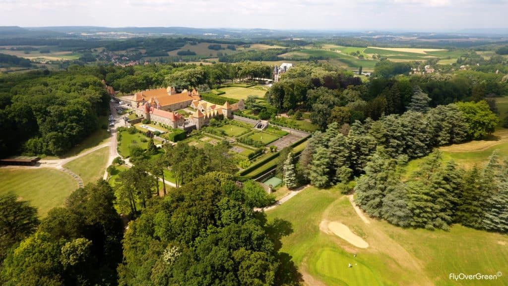 Exclusiv Golf Du Chateau De Bournel - UGOLF - Vue aerienne
