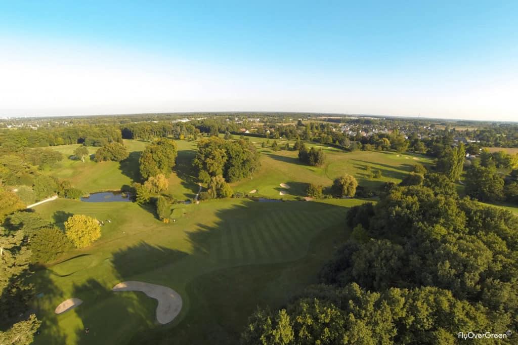Golf De Touraine vue aerienne du parcours