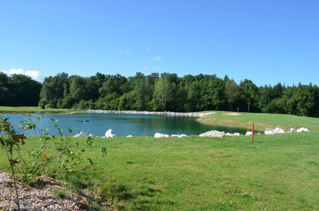 Golf de Besançon Trou 10