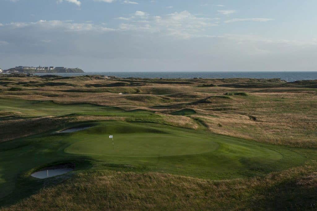 Golf de Granville Links en France