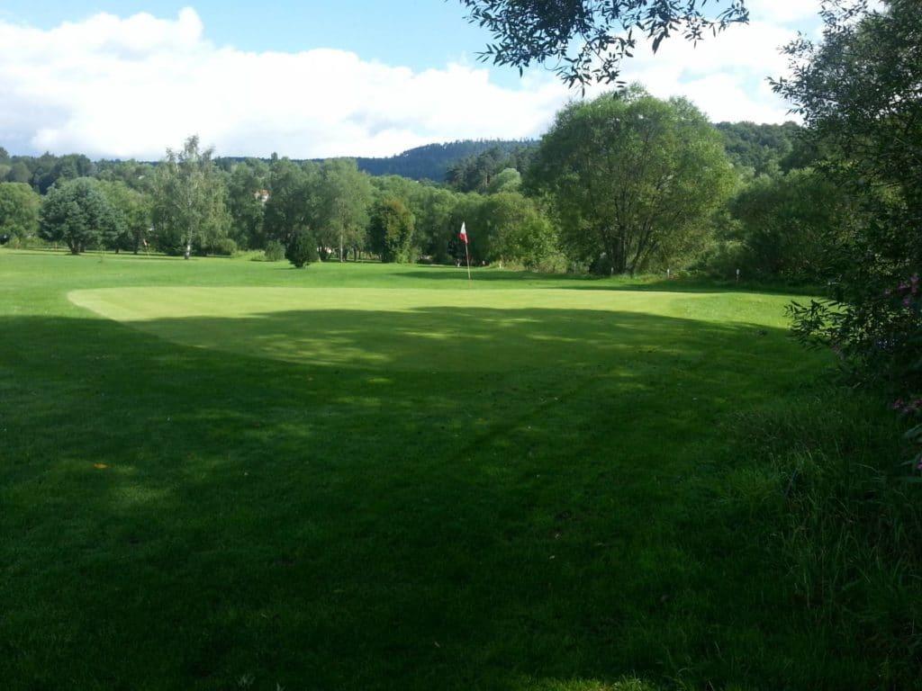 Golf de La Ligne Bleue des Vosges Green prcours compact