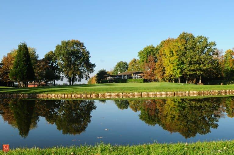 Golf de Nancy-Aingeray lac obstacle eau green