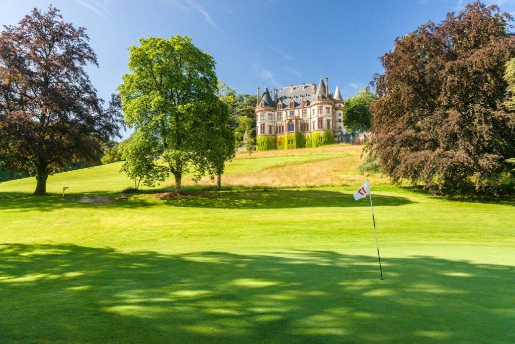 Golf du Château de Bournel Green du 18