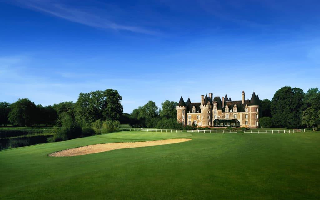 Golf du Château des Sept Tours Green du 18