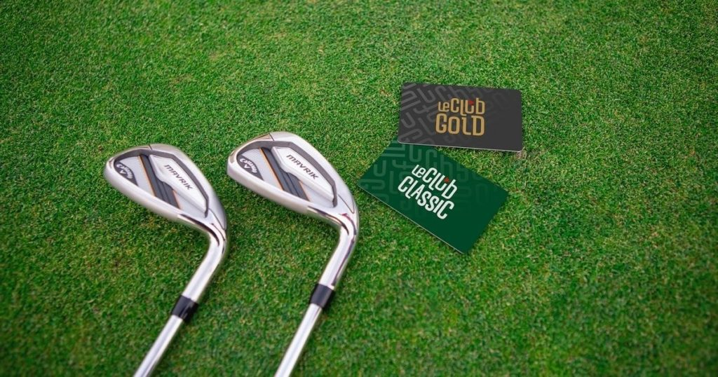 Leclub Golf Carte Classic et Carte Gold