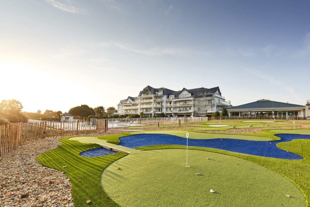 Mini Golf Chaine reseau bluegreen