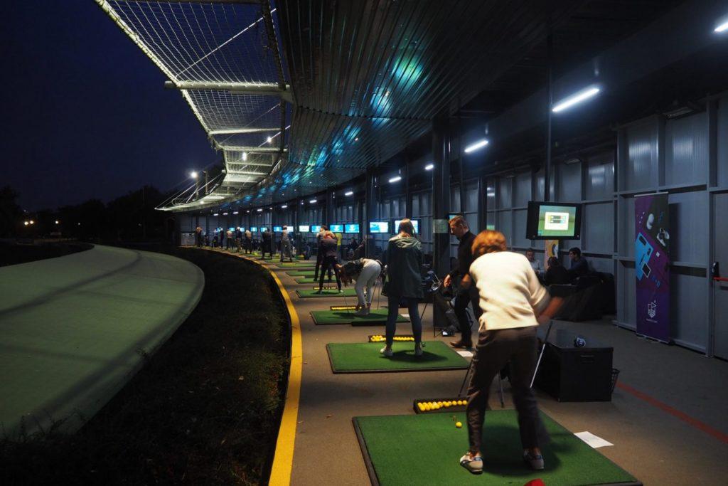Practice golf Golfeurs trackman Bluegreen