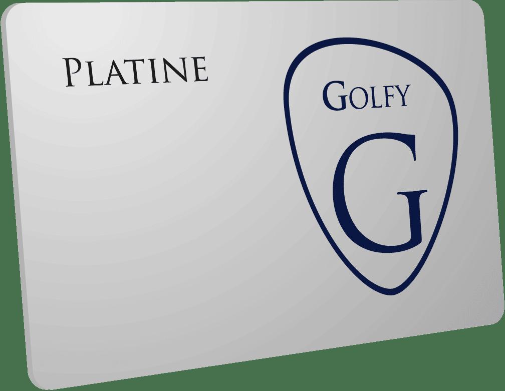 carte platine Golfy