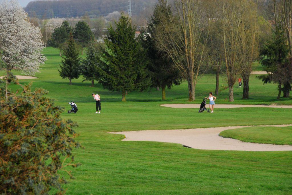 golfeurs swing fairway green bunker GOLF DES IMAGES D'EPINAL