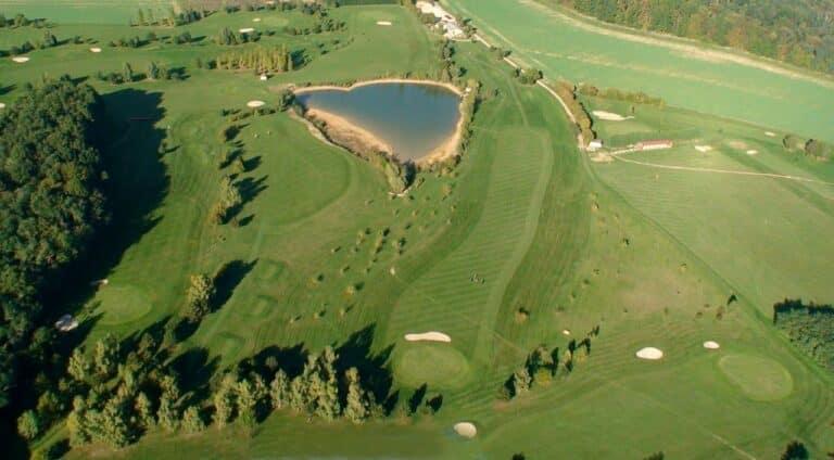 lixy-golf- Golf du Senonais- Vue aerienne