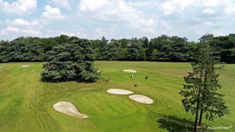 Golf de Nantes Parcours 18 trous, Par 72 pays de la loire