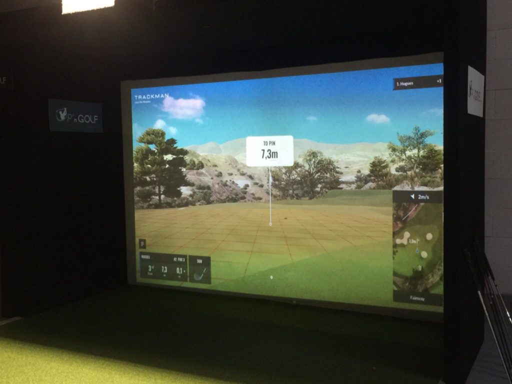 Trackman up n golf Golf Indoor bretagne