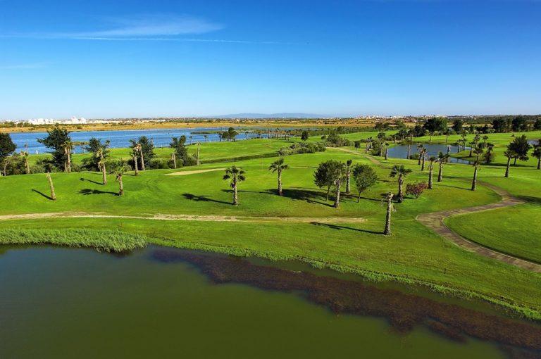 ALBUFEIRA, ALGARVE Salgados Golf Course Parcours Links