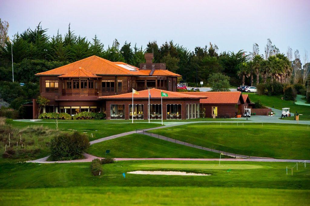 Vacances golf Sejour week-end BELAS, LISBON, PORTUGAL Belas Golf Course Club-house