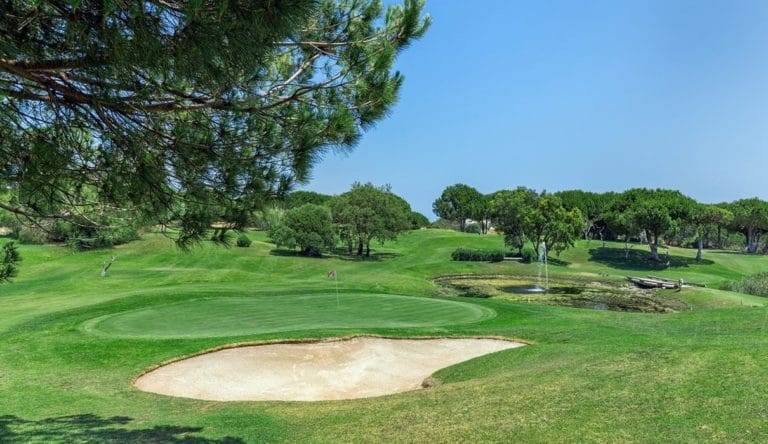 Balaia Golf Village Sitio Da Balaia Albufeira, Portugal Parcours de golf 9 trous
