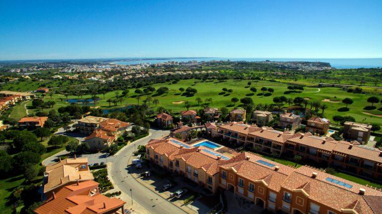 Boavista Golf and Spa Resort Algarve, Portugal vue aerienne du parcours de golf