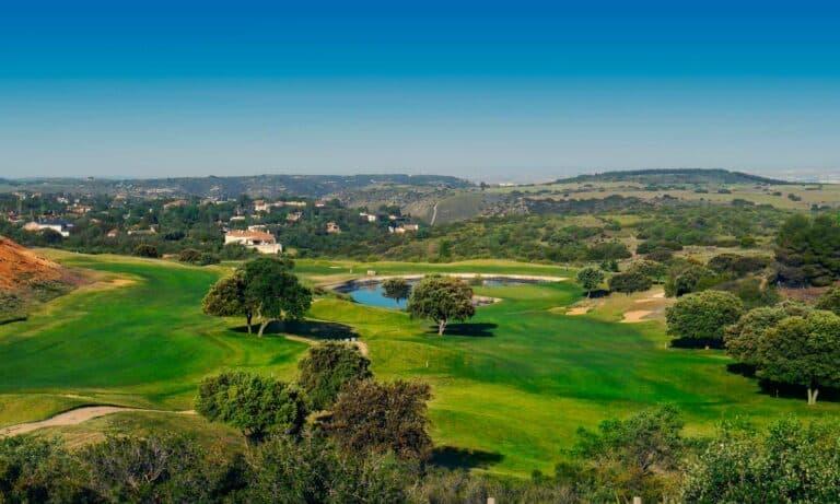 El Robledal Golf Voyage golf Espagne Vue aerienne du parcours