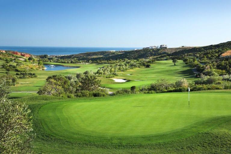 Finca Cortesin Casares, Espagne hotel golf & Spa Vue mer Parcours de golf 18 trous