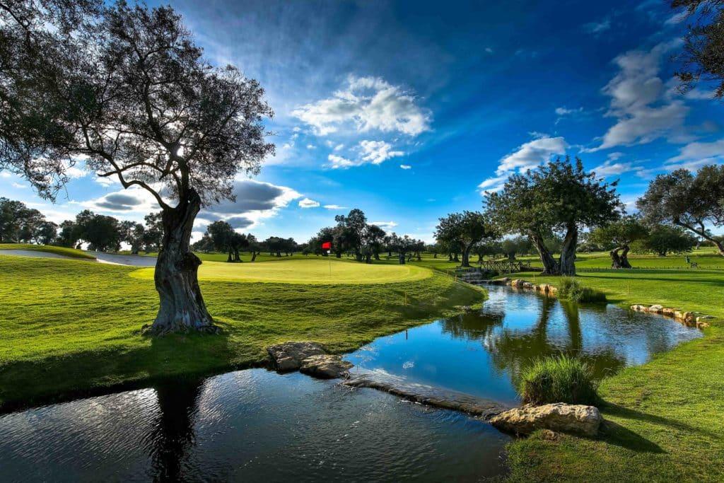 Golf Quinta da Ria Vila Nova de Cacela, Portugal Algarve Parcours de golf